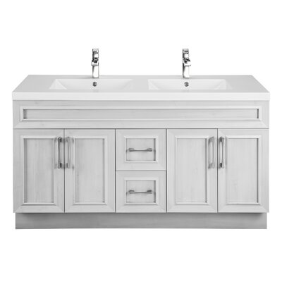Classic 60 Double Vanity Set Base Finish: Meadows Cove