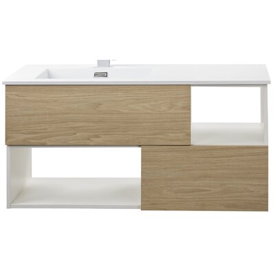 Sangallo 42 Single Bathroom Vanity Base Finish: Casting at First Light