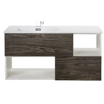Sangallo 42 Single Bathroom Vanity Base Finish: Tete-a-Tete