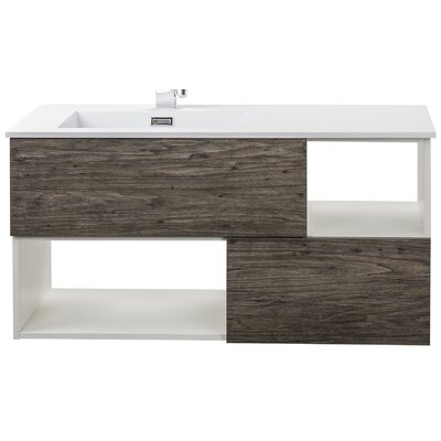 Sangallo 42 Single Bathroom Vanity Base Finish: Stargazer