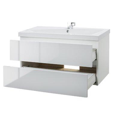 Sangallo 36 Single Bathroom Vanity Set Base Finish: Blanco