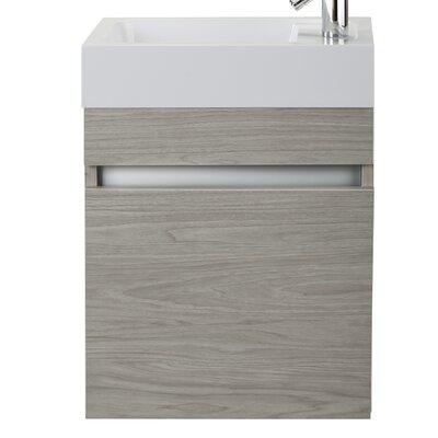 Piccolo 18 Single Bathroom Vanity Base Finish: Weekend Getaway