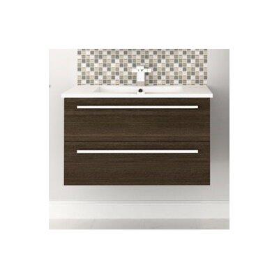Silhouette Wall Hung 30 Single Bathroom Vanity Set