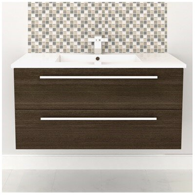Silhouette Wall Hung 48 Single Bathroom Vanity Set