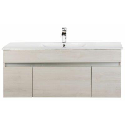 Ivory Floating 48 Single bathroom Vanity