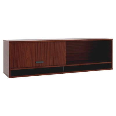Manage 17.8 H x 36 W Desk Hutch Finish: Chestnut