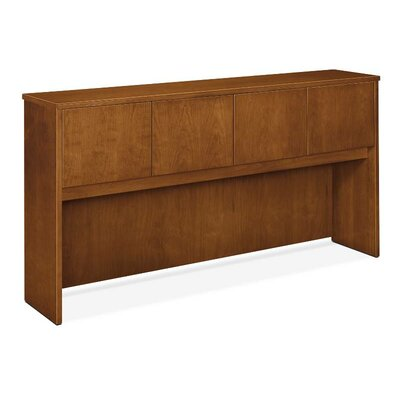Veneer 37.13 H x 72 W Desk Hutch Finish: Mahogany