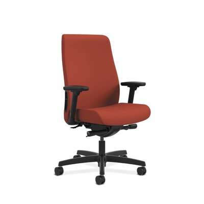 Endorse Upholstered Mid-Back Office Chair Color: Poppy Product Image 6821