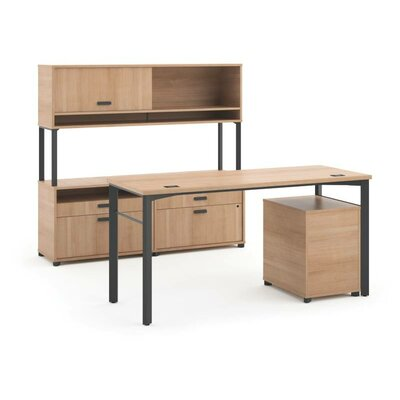 Manage Executive Workstation Finish: Wheat Product Picture 382