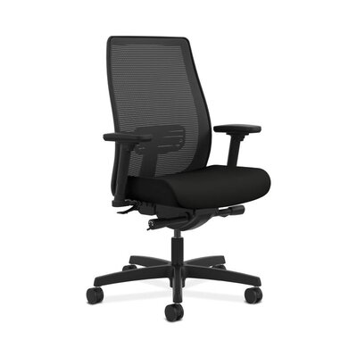 Endorse Mid-Back Mesh Office Chair Color: Black Product Picture 433