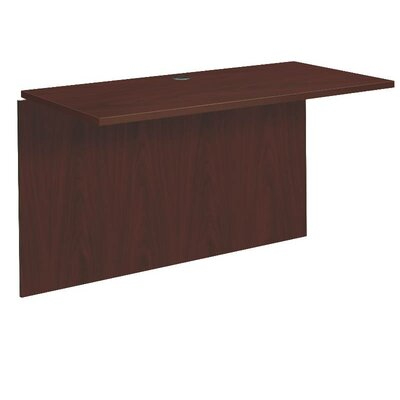 BL Series 29 H x 48 W Desk Bridge Finish: Mahogany