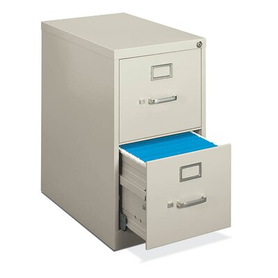 H410 Series 2-Drawer Letter File Finish: Light Gray Product Photo 810
