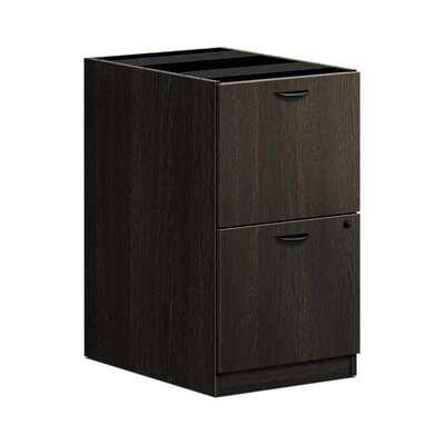 BL Series 27.75 H x 15.63 W Desk File Pedestal Finish: Espresso