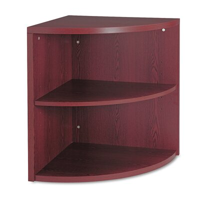 10500 Series Two-Shelf End Cap 29.5 Bookcase Finish: Mahogany Product Photo 375
