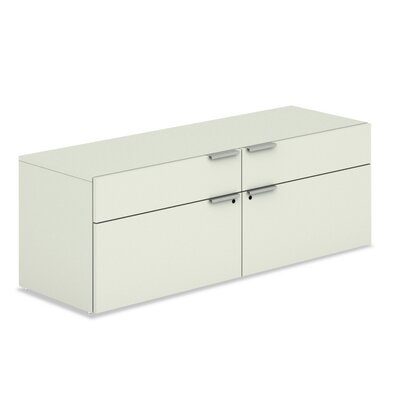Voi Low Credenza with 2 Box and 2 File Drawers Product Picture 5927