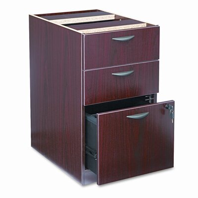 27.75 H x 15.625 W Desk File Pedestal