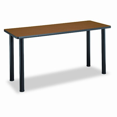 Rectangular Training Table Top, 60w x 24d, Bourbon Cherry