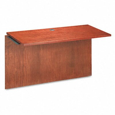 28.44 H x 48 W Desk Bridge Finish: Bourbon Cherry