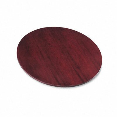 Veneer Round Conference Table Top Finish: Mahogany Product Image 173