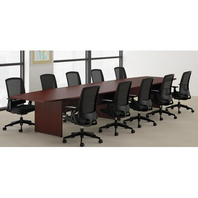 Preside Boat-Shaped Conference Table