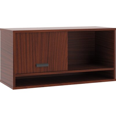Manage 17.8 H x 36 W Desk Hutch Finish: Chestnut