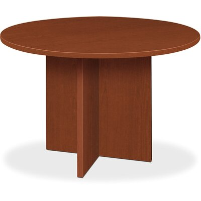 4 Circular Conference Table Color: Medium Cherry