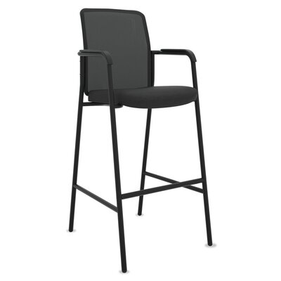 Mesh Back with Arms Ergonomic Stool