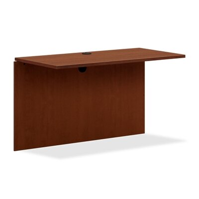 BL Series 29 H x 48 W Desk Bridge Finish: Medium Cherry