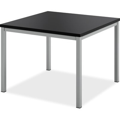 Corner End Table Color: Black