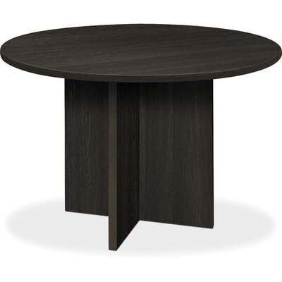 BL Laminate Circular 29.5H x 47W x 47L Conference Table Finish: Espresso