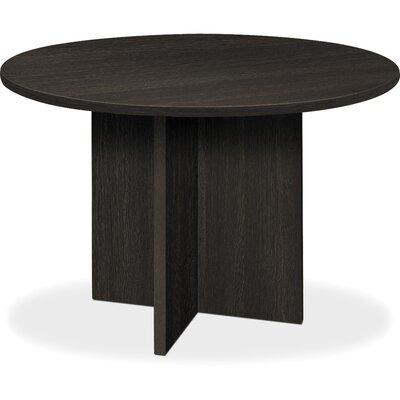 BL Laminate X-Base 4 Circular Conference Table Finish: Espresso