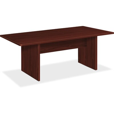 BL Laminate 6 Rectangular Conference Table Finish: Mahogany