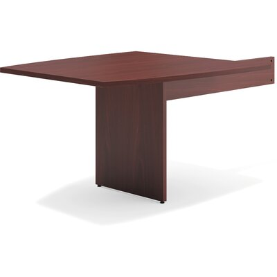 47.50 H x 44 W Desk Peninsula Finish: Mahogany