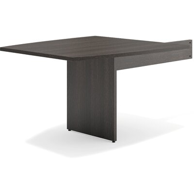 47.50 H x 44 W Desk Peninsula Finish: Espresso