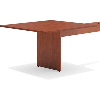 47.50 H x 44 W Desk Peninsula Finish: Medium Cherry
