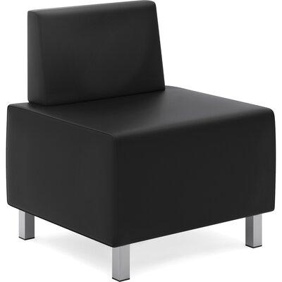 Modular Leather Slipper Chair