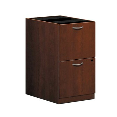 BL Series 27.75 H x 15.63 W Desk File Pedestal Finish: Medium Cherry