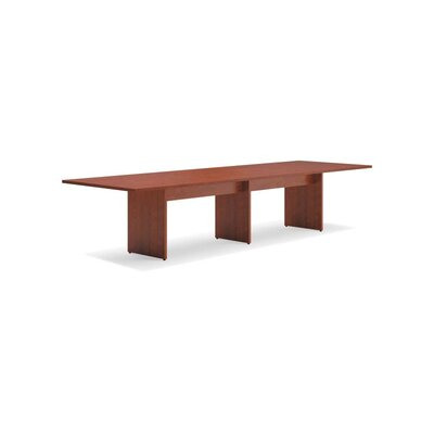 4 Rectangular Conference Table Finish: Medium Cherry