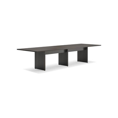 4 Rectangular Conference Table Finish: Espresso
