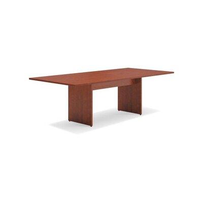 8 Rectangular Conference Table Finish: Medium Cherry