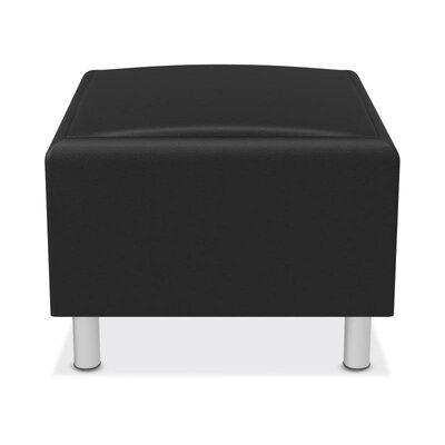 Lounge Ottoman Upholstery: Black