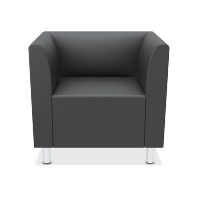 Lounge Arm Chair Upholstery: Charcoal