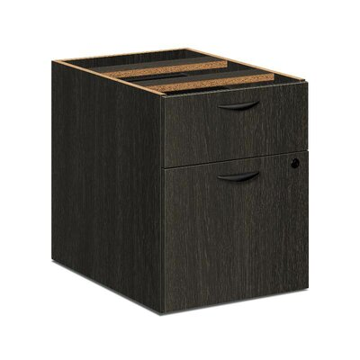 BL Series 19.25 H x 15.63 W Desk File Pedestal Finish: Espresso