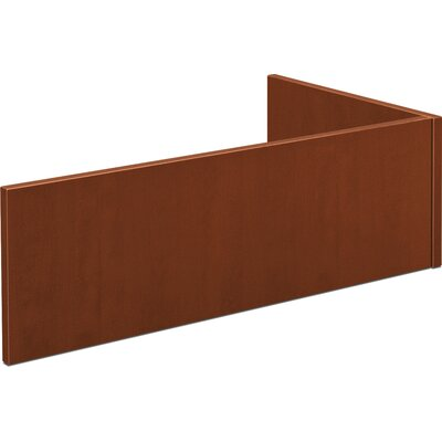 BL Series 13 H x 42.25 W Desk Privacy Panel Color: Medium Cherry