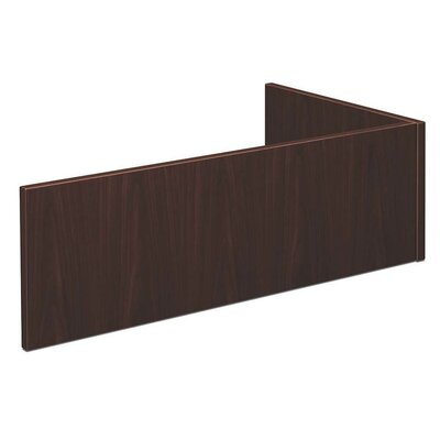 BL Series 13 H x 42.25 W Desk Privacy Panel Finish: Mahogany