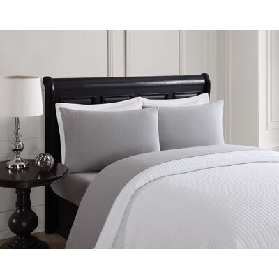 Sheet Set Size: King, Color: Light Gray