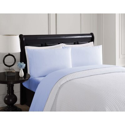Sheet Set Size: Queen, Color: Light Blue
