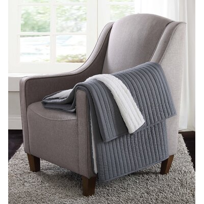 Reversible Throw Color: Gray