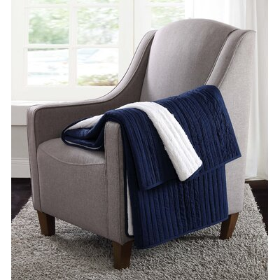 Reversible Throw Color: Navy