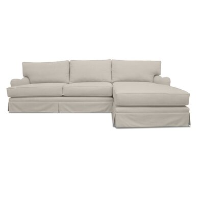 Sectional Upholstery: Sand, Orientation: Right Hand Facing